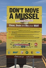 Boaters must stop at inspection stations to help prevent the spread of mussels