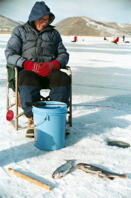 Good Ice Fishing Close to Home