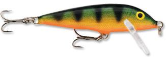 Perch colored Countdown Rapala