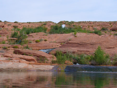 Sand Hollow Reservoir inlet