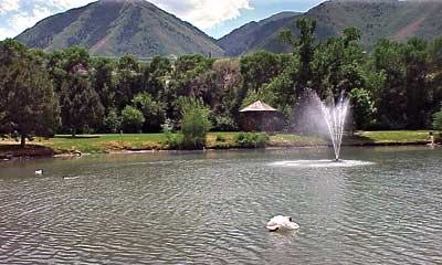 Canyon View Park Pond