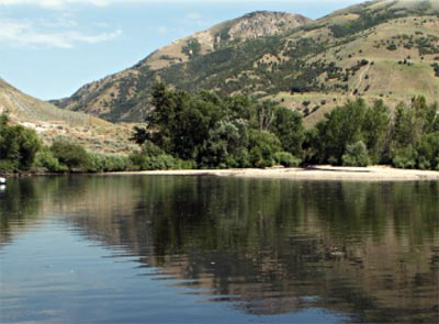 Mayor's Pond in Brigham City